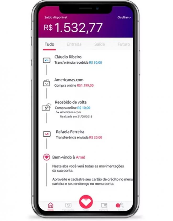 Ame Digital: conheça o aplicativo que permite pagar suas contas com cashback - 4