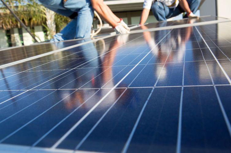 Placas para geração de energia solar