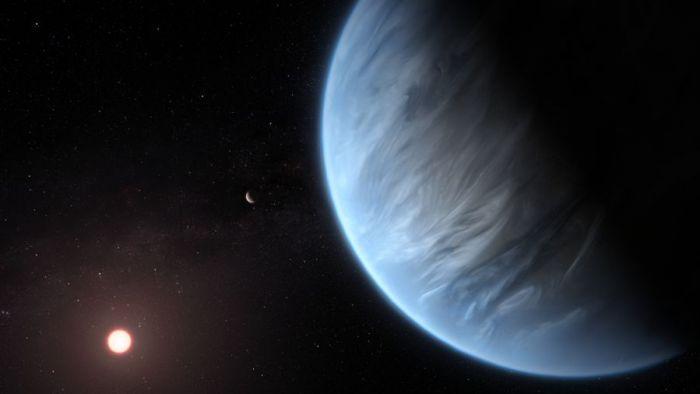 Cientistas descobrem água na atmosfera de exoplaneta a 110 anos-luz da Terra - 1