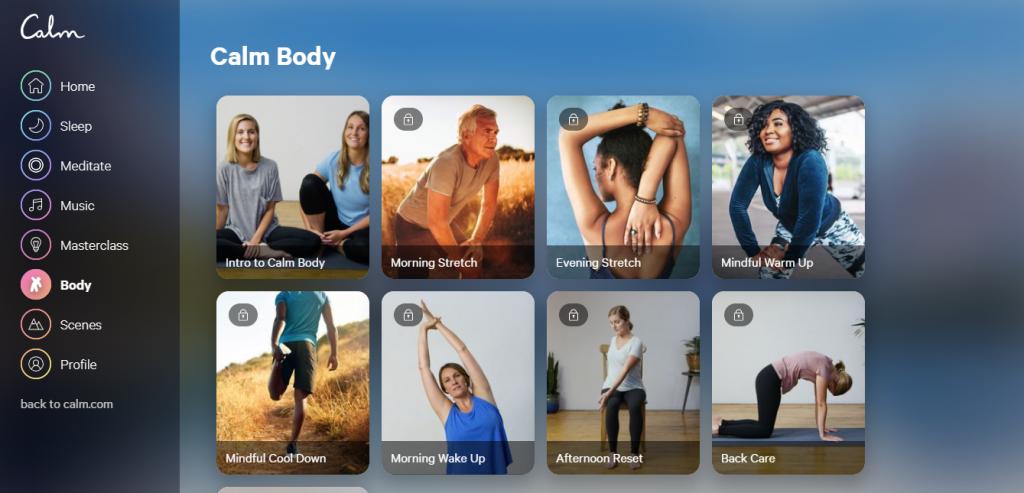 Conheça o Calm, aplicativo que permite ouvir música para relaxar e meditar - 11