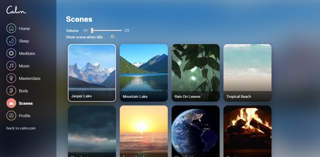 Conheça o Calm, aplicativo que permite ouvir música para relaxar e meditar - 12