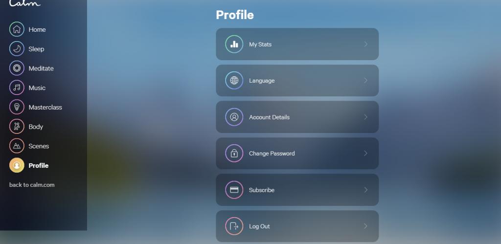 Conheça o Calm, aplicativo que permite ouvir música para relaxar e meditar - 13