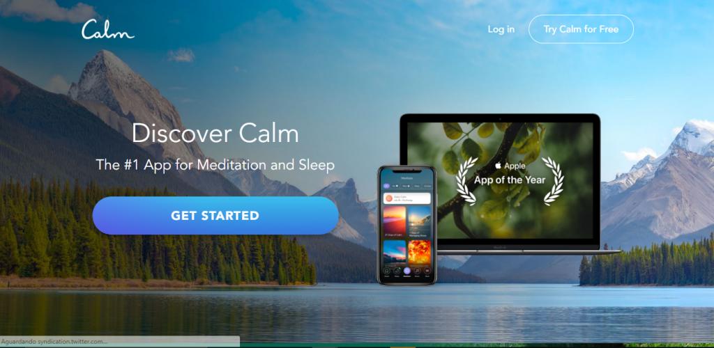 Conheça o Calm, aplicativo que permite ouvir música para relaxar e meditar - 2
