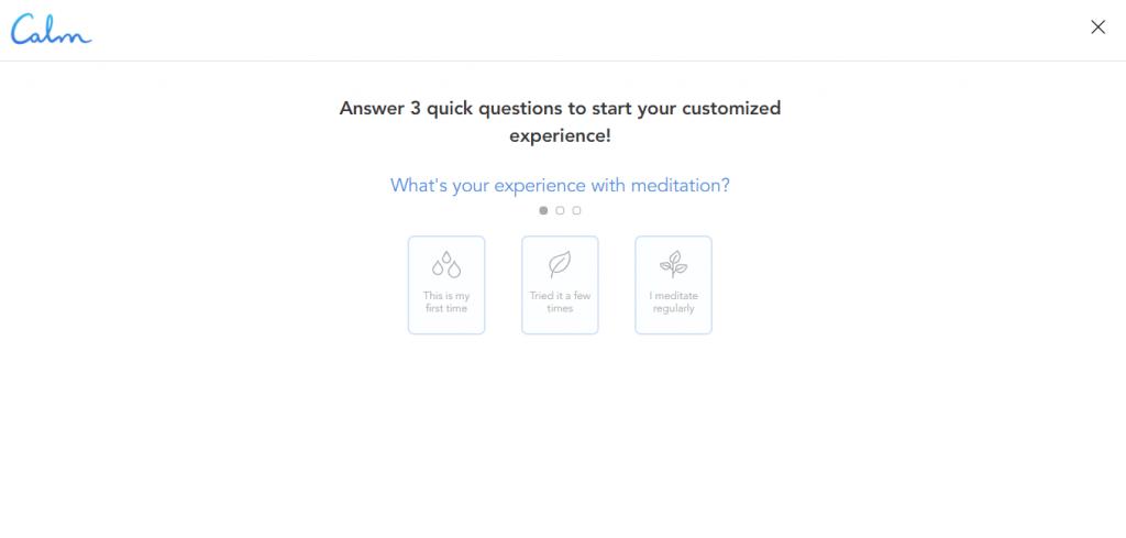 Conheça o Calm, aplicativo que permite ouvir música para relaxar e meditar - 3