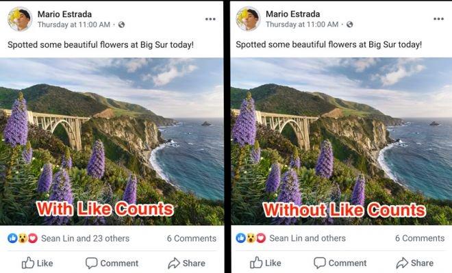Facebook não mostra mais número de curtidas a partir desta sexta-feira (27) - 2