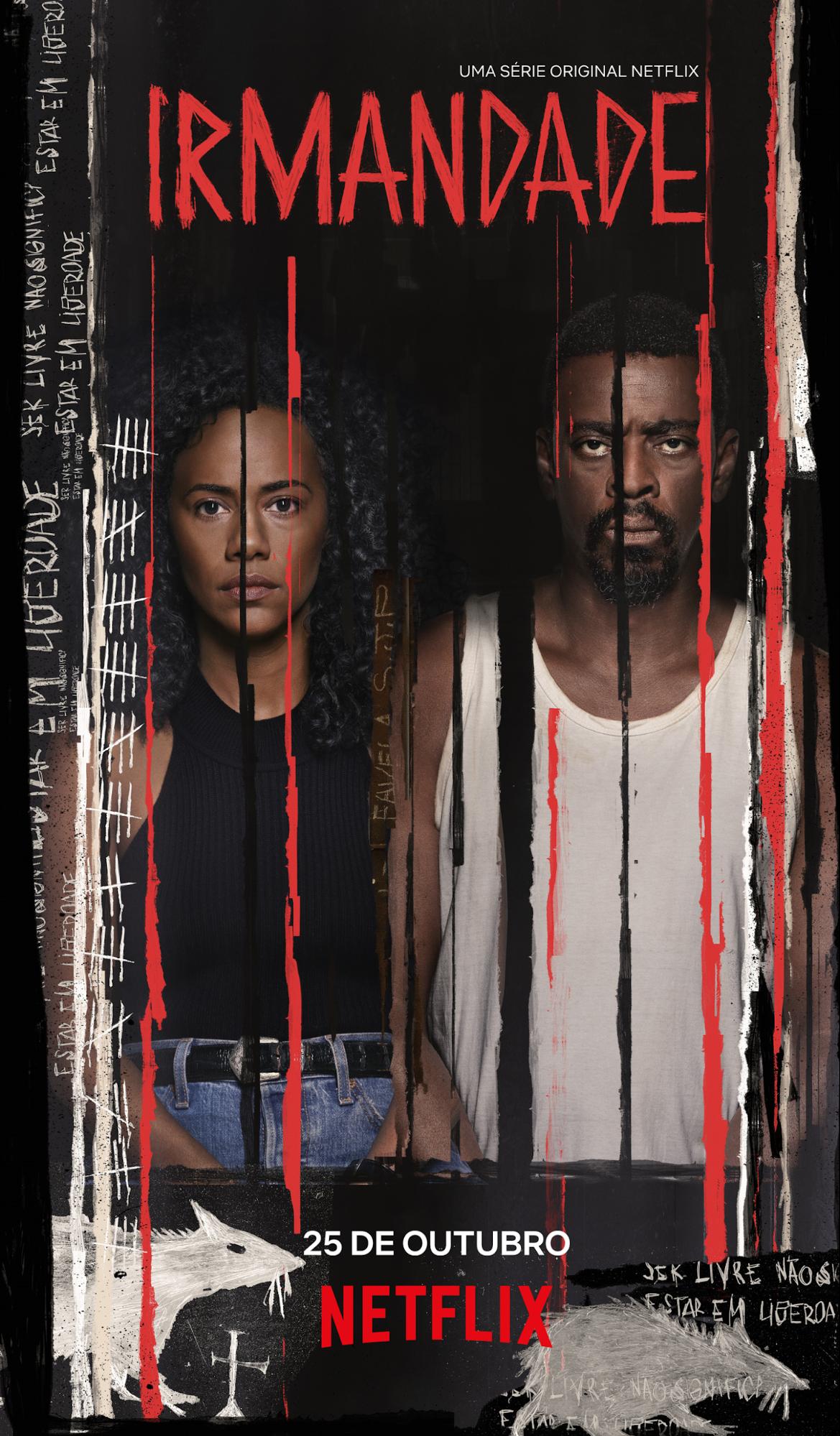 Irmandade, série da Netflix com Seu Jorge, ganha cartaz e data de estreia - 1