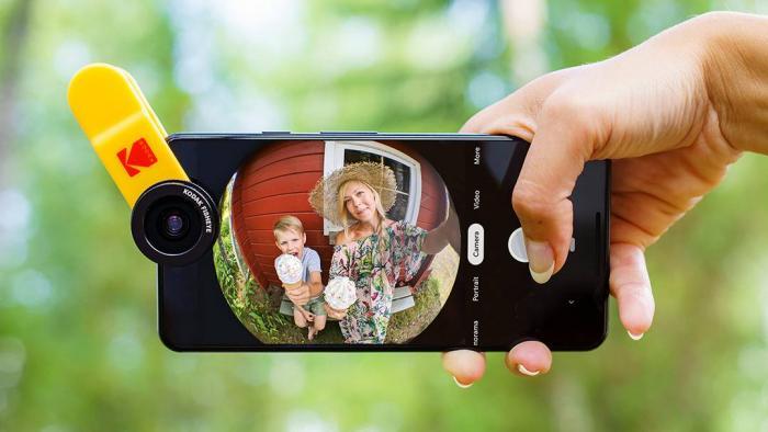 Kodak vai lançar kit de fotografia para smartphones, com lentes e acessórios - 1