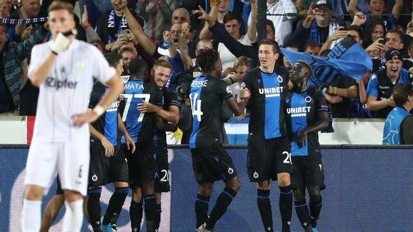 Club Brugge vs LASK Linz - UEFA Champions League Play Off