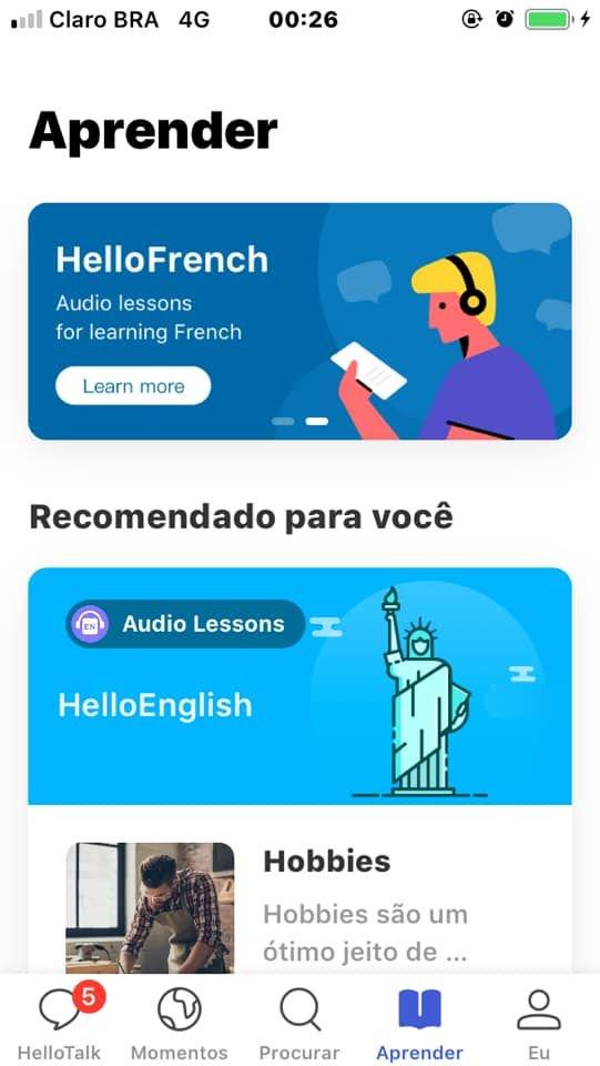 Saiba como aprender inglês e outros idiomas de graça com o Hello Talk - 11