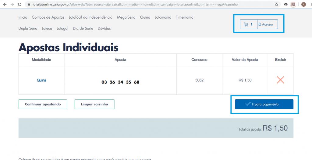 Saiba como utilizar a lotérica online da Caixa - 6