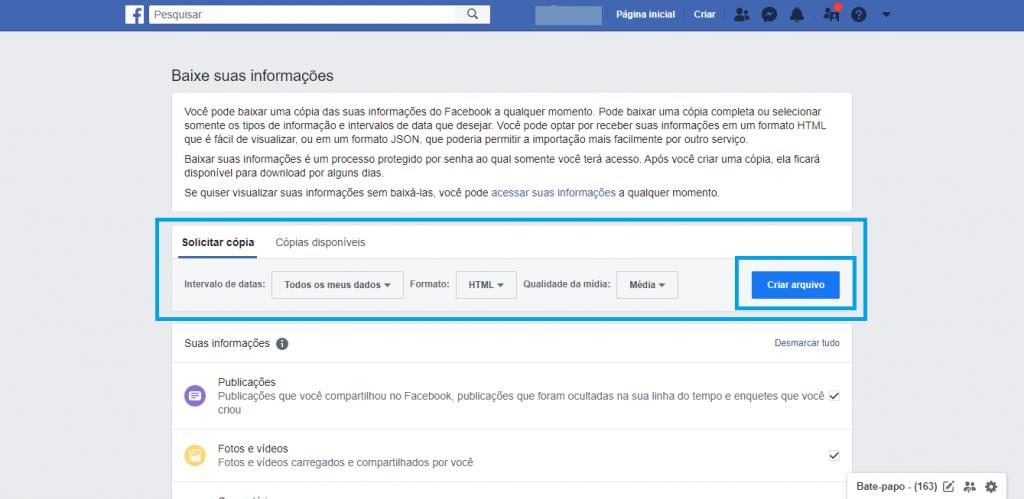 Saiba quais de seus dados o Facebook pode acessar e a importância de observá-los - 5