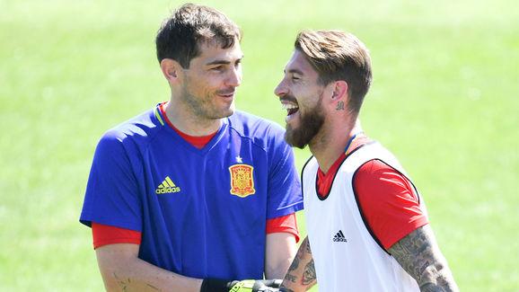 Sergio Ramos,Iker Casillas