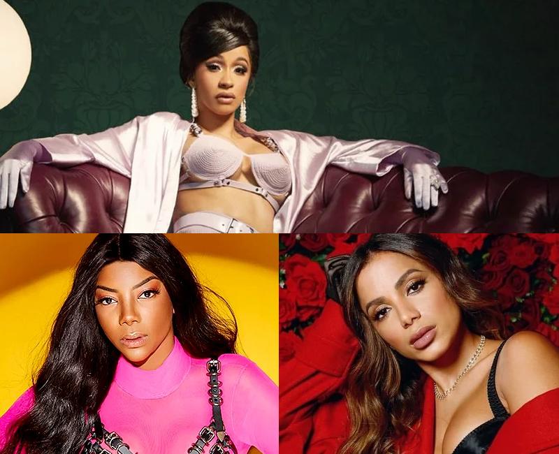Briga de Anitta e Ludmilla envolve o funk em parceria com Cardi B - 1