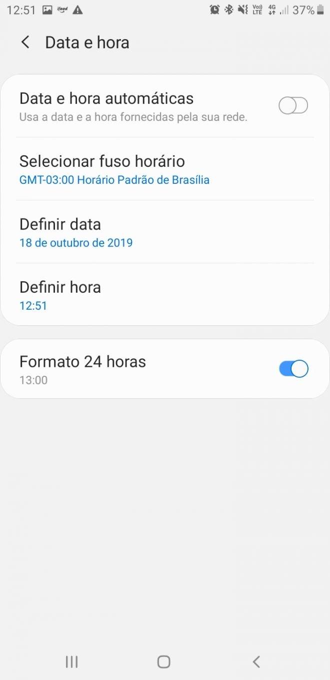 Como evitar problemas no seu celular Android com o fim do horário de verão - 3