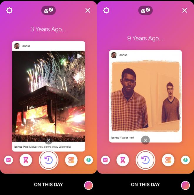 De olho nos nostálgicos, Instagram lança seu recurso