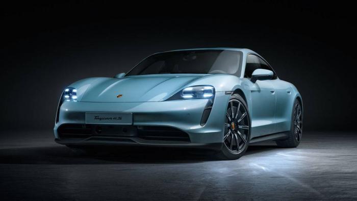 Esportivo elétrico Porsche Taycan 4S chega no primeiro semestre de 2020 - 1