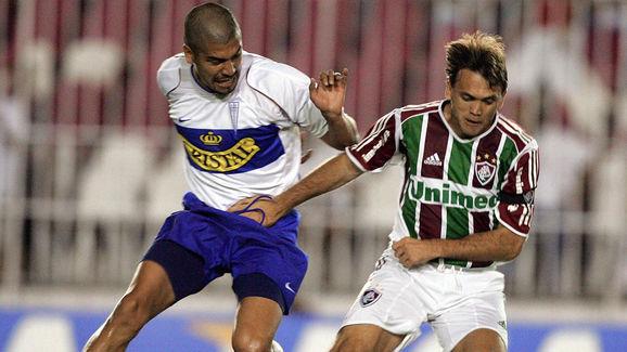 Petkovic (D) de Fluminense de Brasil dis