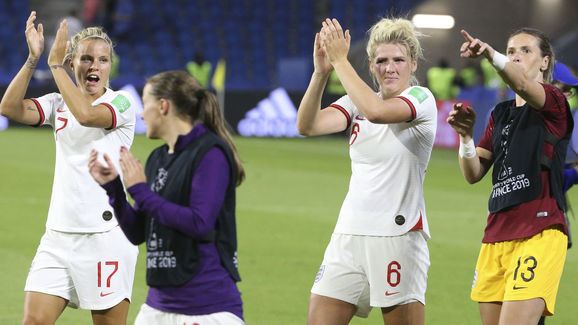 Rachel Daly,Millie Bright,Carly Telford