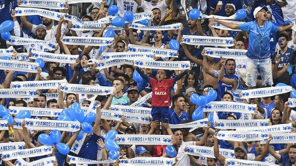Cruzeiro v Deportivo Lara - Copa CONMEBOL Libertadores 2019