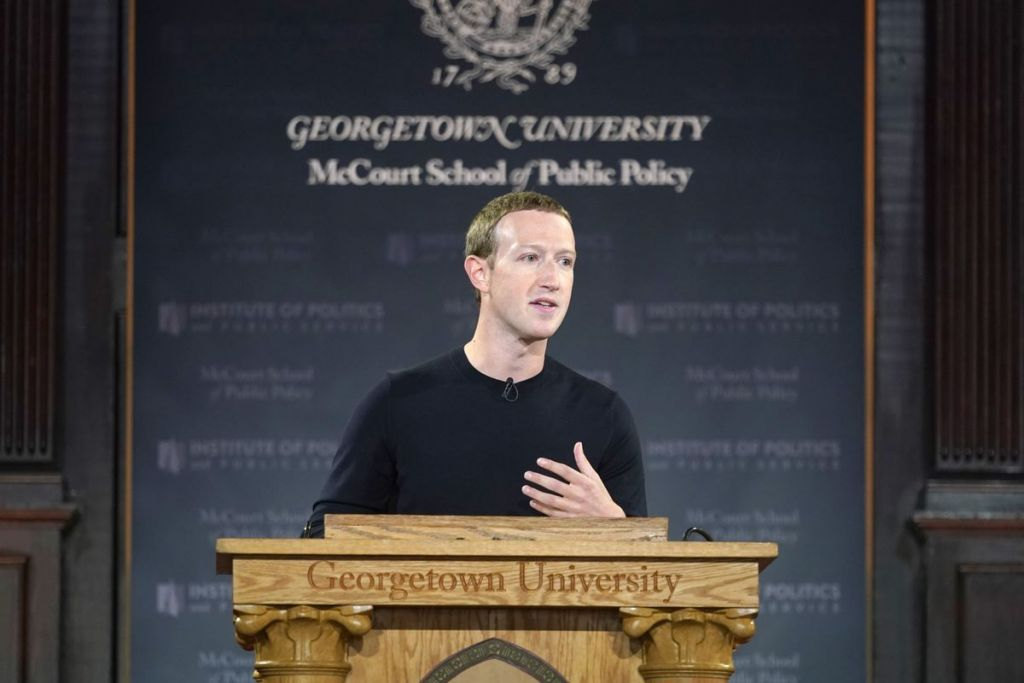 Mark Zuckerberg faz discurso em universidade e defende a liberdade de expressão - 2