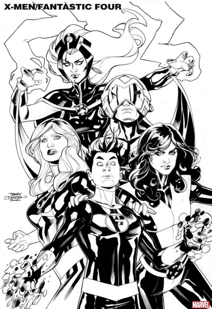Marvel anuncia especial com X-Men e Quarteto Fantástico - 1