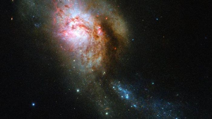 Medusa espacial: Hubble captura imagem incrível de fusão de galáxias - 2