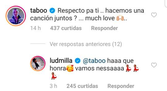 Membro do Black Eyed Peas convida Ludmilla para cantarem numa música juntos - 2
