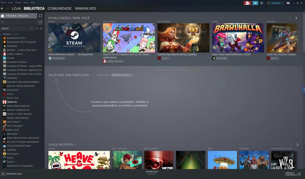 Steam | Novo visual da biblioteca está disponível para todos os usuários - 2