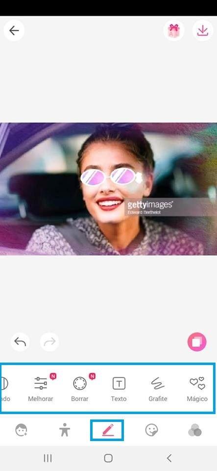 Sweet Selfie: Saiba como editar suas fotos no aplicativo - 5