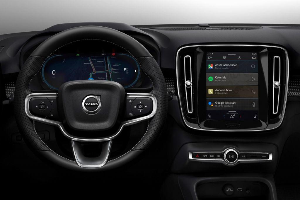 Volvo | SUV elétrico XC40 terá novo sistema multimídia Android Automotive - 2