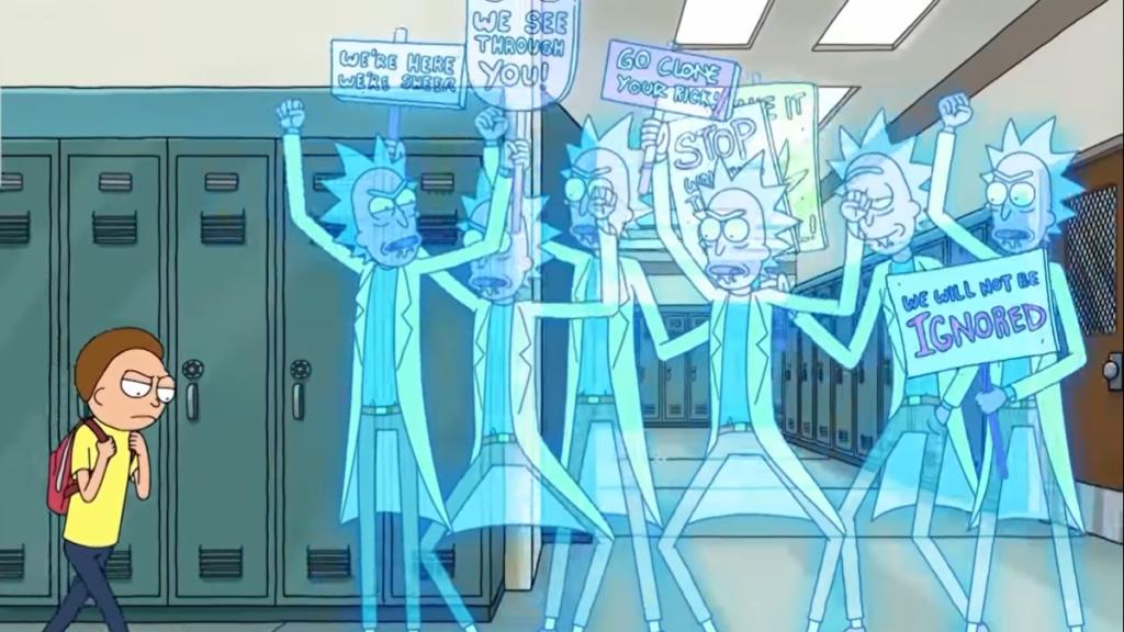 13 referências que você não viu na estreia da 4ª temporada de Rick and Morty - 9