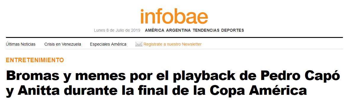 Após ser criticada por playback, Anitta cantará na final da Libertadores - 1