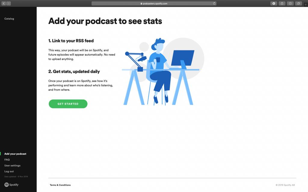Como colocar o seu podcast no Spotify - 2