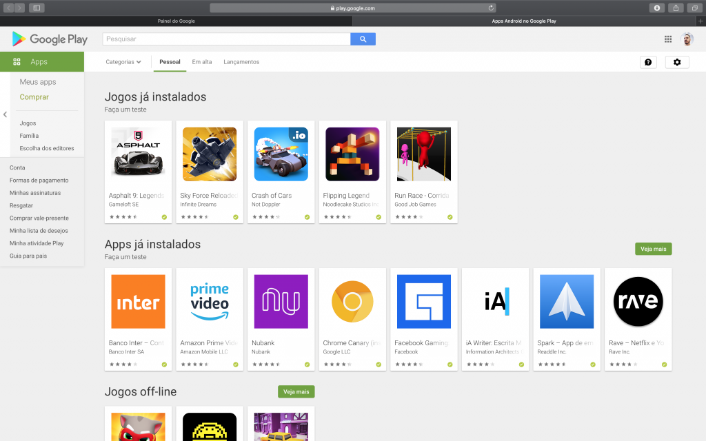 Como ver todos os aplicativos já baixados no Android - 4