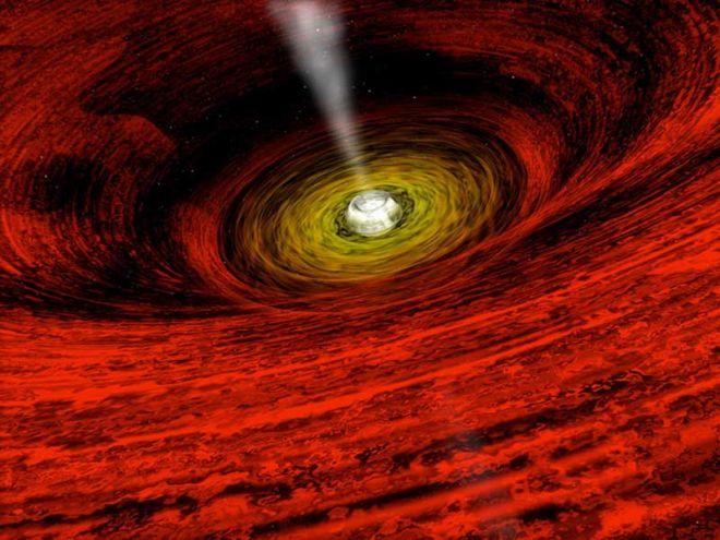 E se pudéssemos entrar em um buraco negro? O que encontraríamos no caminho? - 2