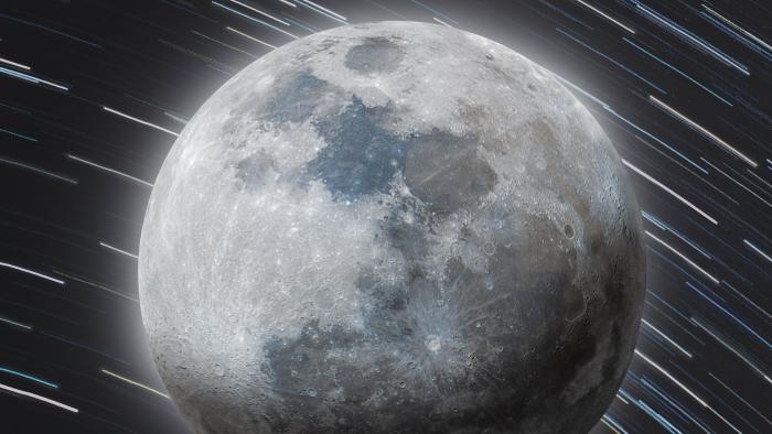 Esta bela imagem da Lua foi criada a partir de 500 fotos e tem 52 megapixels - 1