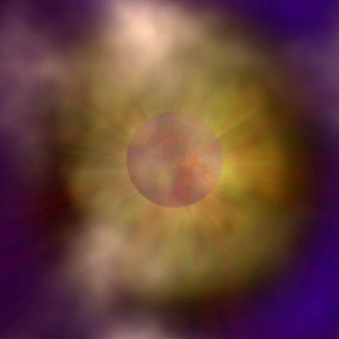 Estrela de nêutrons escondida há 32 anos finalmente é avistada - 2