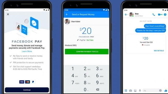 Facebook Pay: pagamentos via WhatsApp, Instagram e Messenger já existem nos EUA - 1