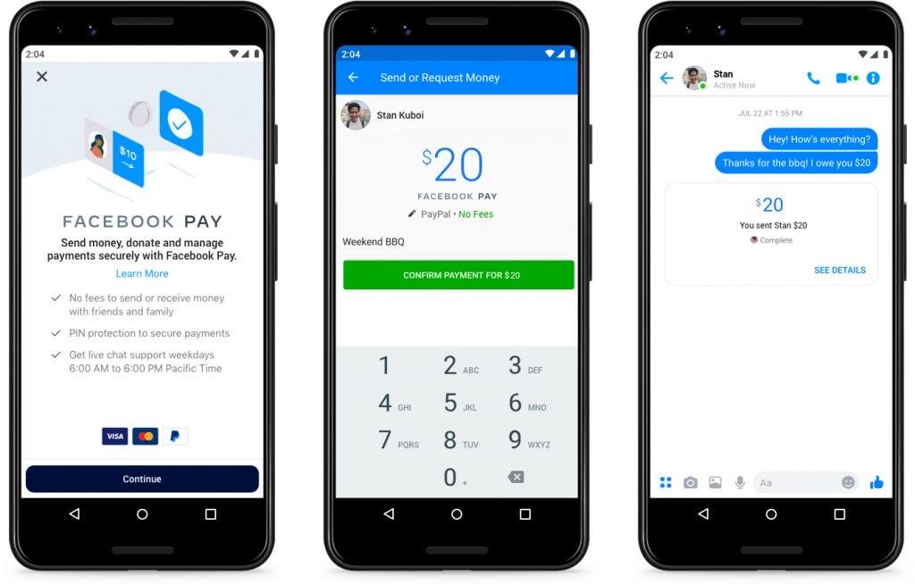 Facebook Pay: pagamentos via WhatsApp, Instagram e Messenger já existem nos EUA - 2
