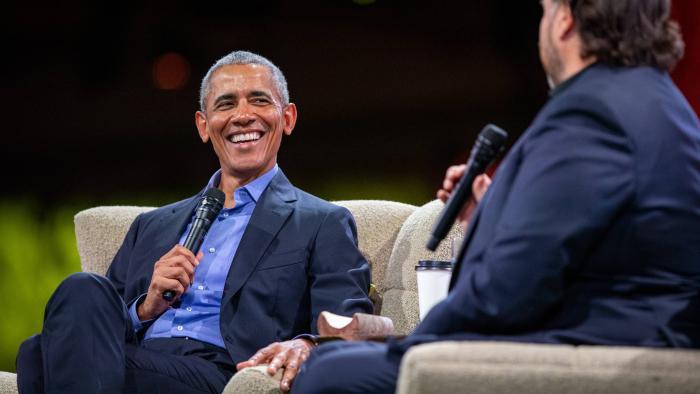 Fake news e mudanças climáticas são principais desafios atuais, diz Barack Obama - 1