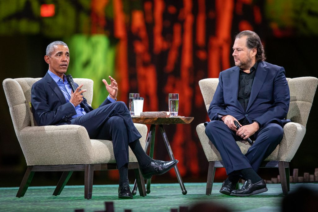 Fake news e mudanças climáticas são principais desafios atuais, diz Barack Obama - 2