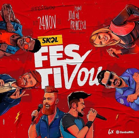 FestiVou reúne grandes nomes da música - 2