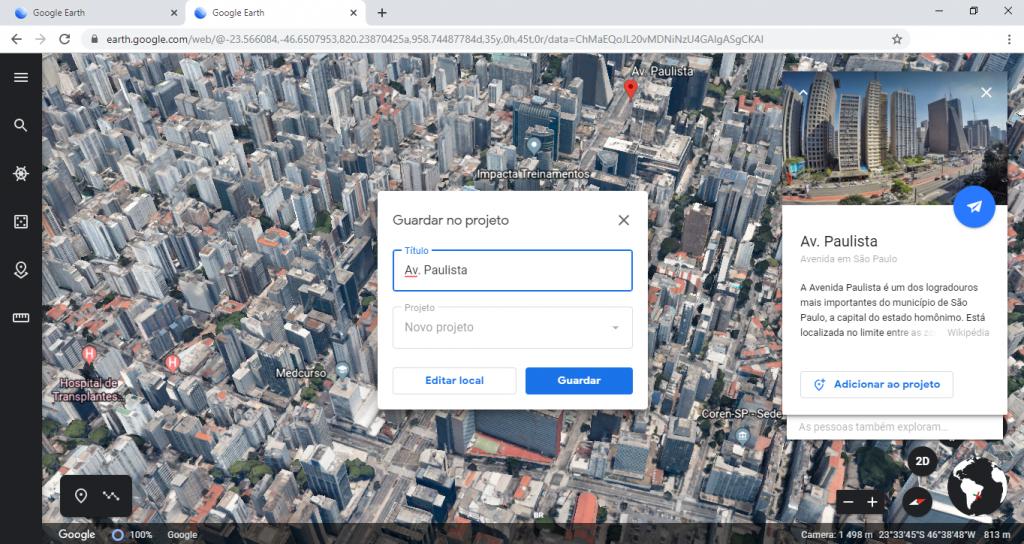 Google Earth lança recurso para usuários criarem seus próprios mapas e histórias - 3