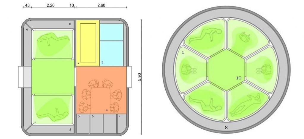 Hibernação de astronautas pode permitir viagens a Marte com naves menores - 2
