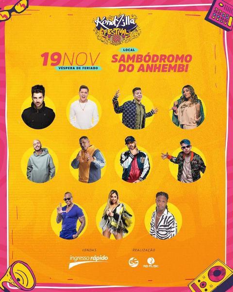 Kondzilla Festival promete agitar o Anhembi com o melhor do funk - 2