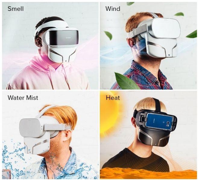 """Máscara de realidade virtual libera odores, aquece e até """"solta vento"""" - 2"""