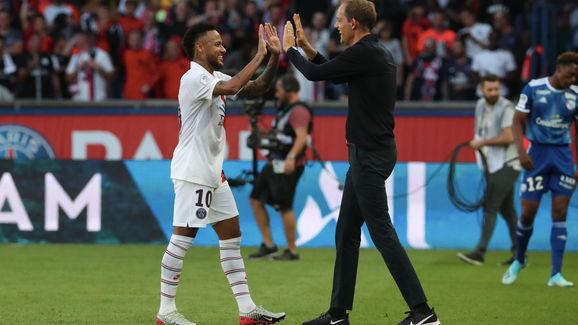 Neymar Jr,Thomas Tuchel