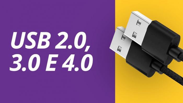 Quais as diferenças entre os padrões USB 2.0, 3.0 e 4 - 1