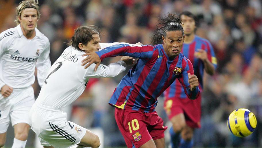 Quando os rivais se curvam: há 14 anos, Ronaldinho fazia história no Bernabéu - 1