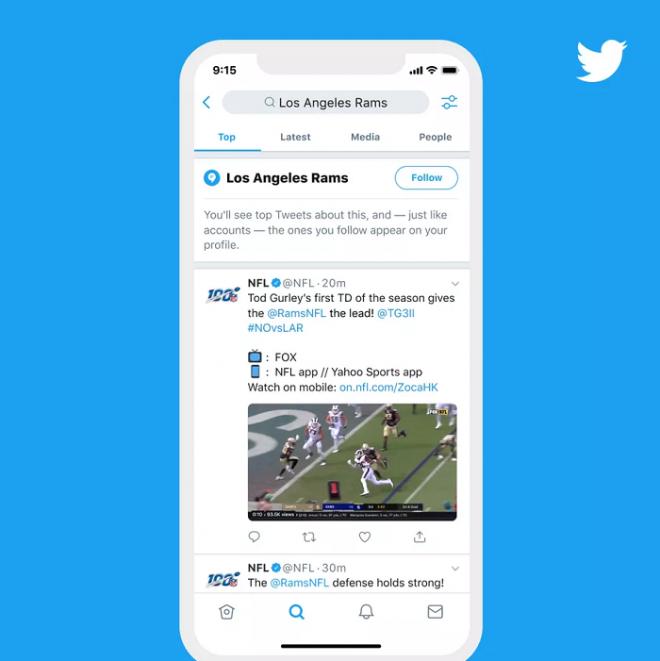 Twitter lança Topics, uma maneira de seguir assuntos automaticamente na timeline - 3
